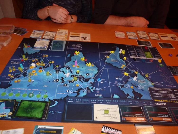 Pandémie Legacy (fin octobre)