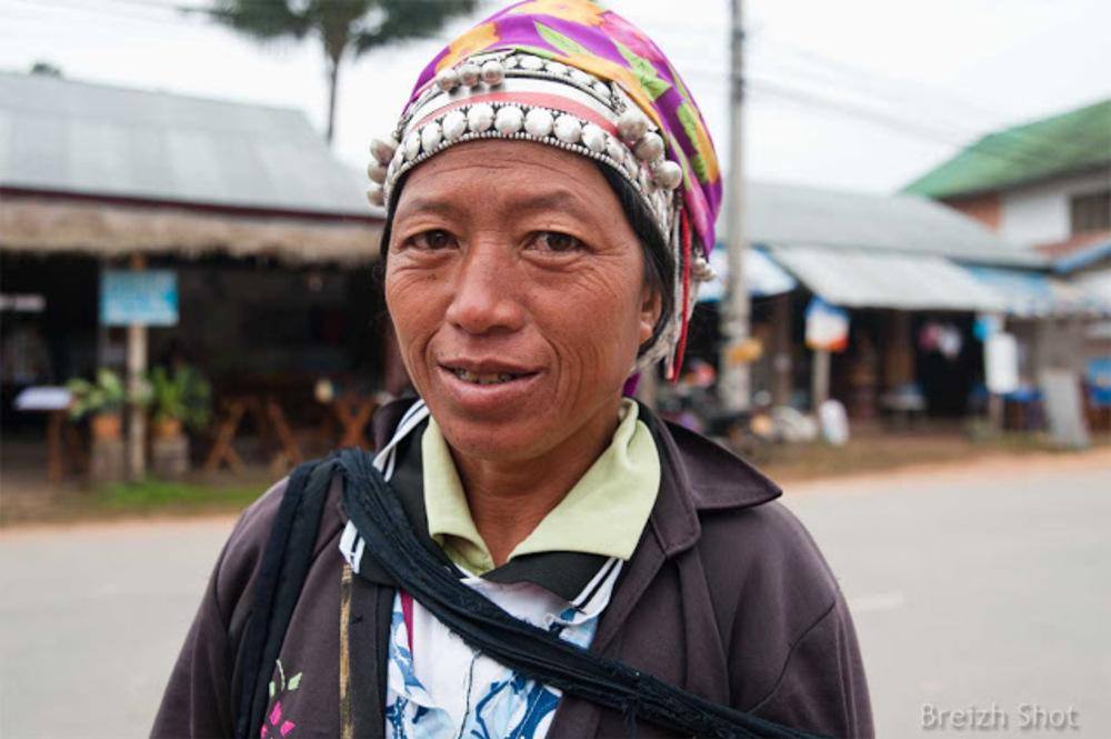 femme akha - Luang Namtha - Laos