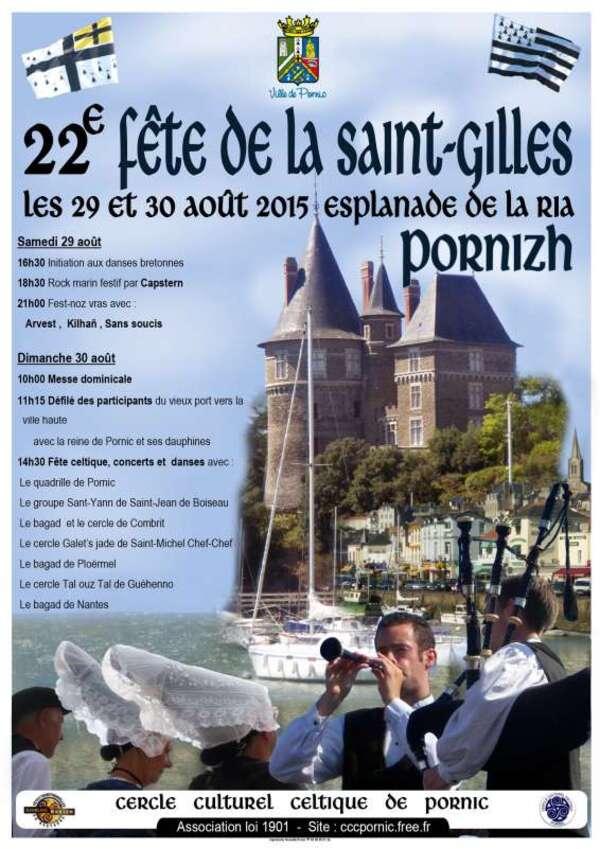 Fete de la St Gilles 2015 à Pornic