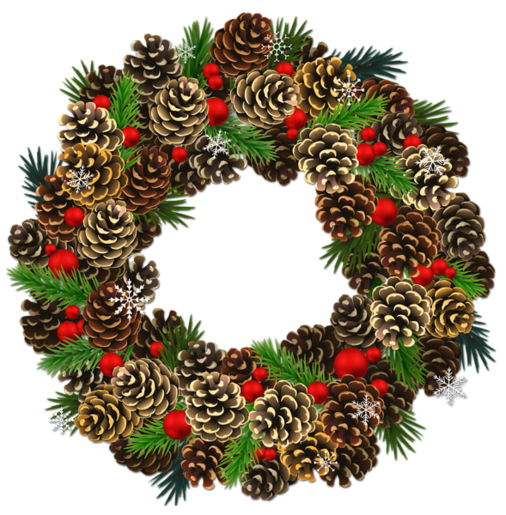 http://gallery.yopriceville.com/var/resizes/Free-Clipart-Pictures/Christmas-PNG/Transparent_Christmas_Pinecone_Wreath_PNG_Clipart.png?m=1419240492