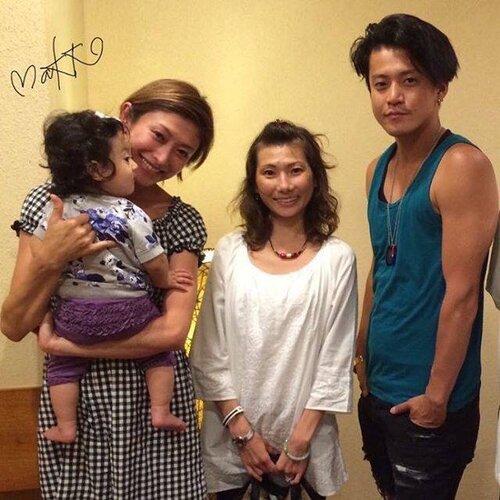 Photos Shun Oguri (adulte) et sa famille
