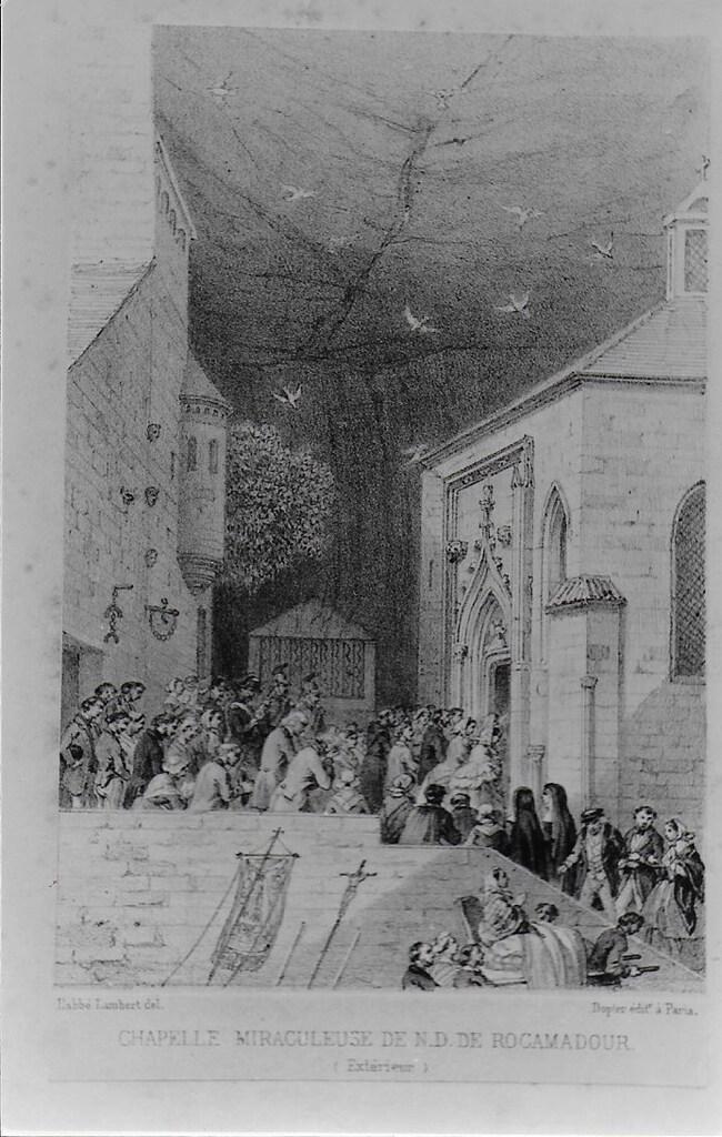 Anciennes vues du pèlerinage