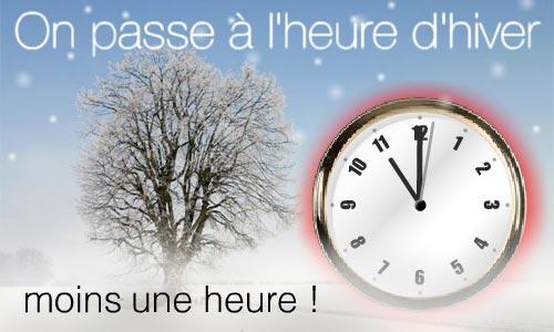 Passage à l'heure d'hiver (GMT) au Maroc, dimanche 29 Octobre prochain
