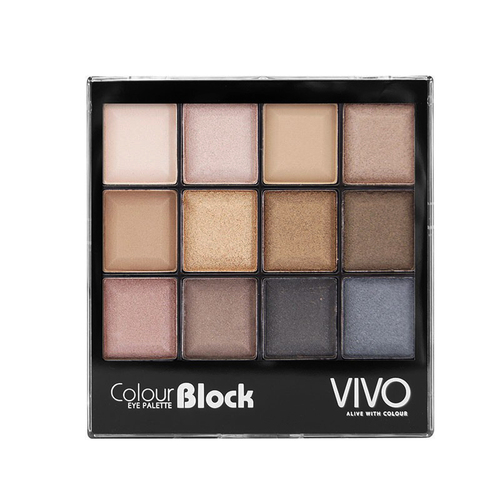 Revue : Unprotected Colour Block palette - VIVO COSMETICS