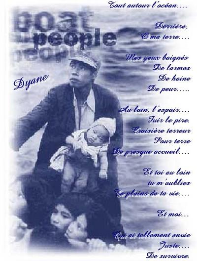 Blog de dyane :Traces de Vie, Boat people