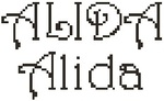 Dictons de la Ste Alida + grille prénom    !