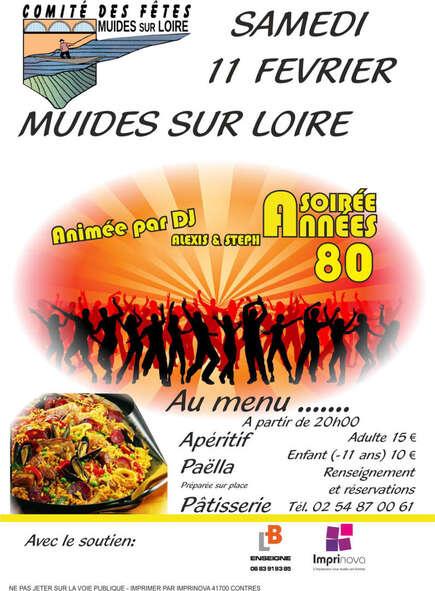 """Soirée """"Année 80"""""""