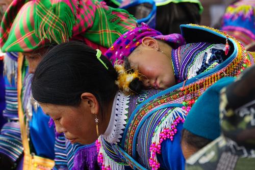 Sapa, un festival de couleurs