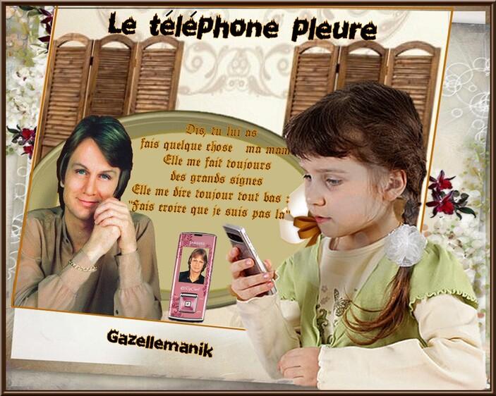 Le téléphone pleure Défi pour Monia 59 sur blog pour tous !