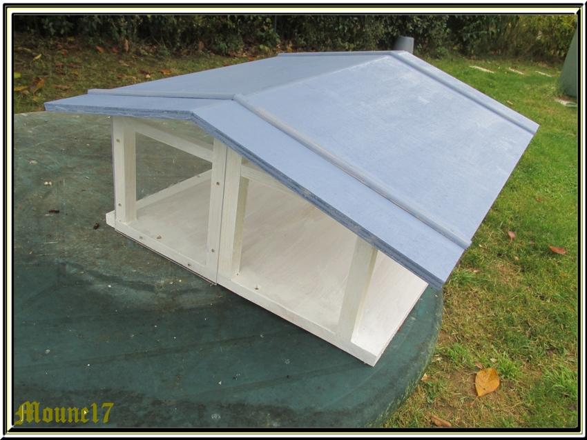 Une nouvelle petite maison pour les oiseaux du jardin