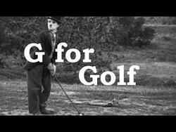 CHAPLIN, Charlie & Buston Keaton - Golf Antic (Humour)