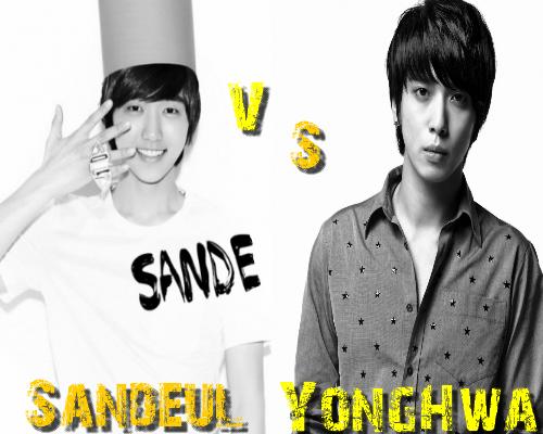 YongHwa (C.N Blue) vs Sandeul (B1A4) - Round 7