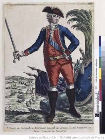 Le comte de Rochambeau