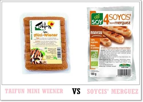 Mini Wiener VS Soycis' façon merguez