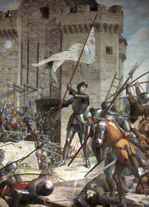 Le 30 Mai 1431, Jeanne d'Arc meure brulée vive à Rouen