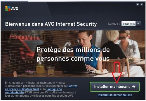 Avg Internet Security 2016 - Licence 4 ans gratuits