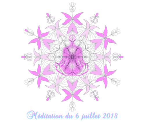 Méditation du 6 juillet 2018