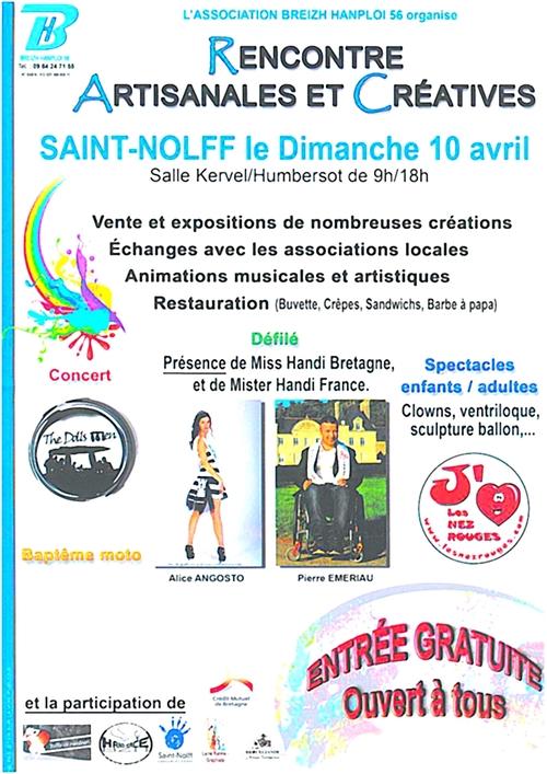 Dimanche 10 avril à Saint Nolff