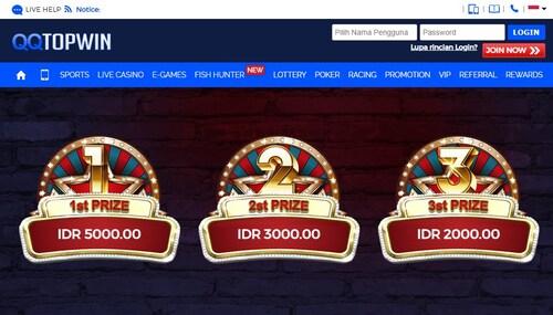 QQTopwin Situs Bandar Judi Online Dengan Bonus Terbesar