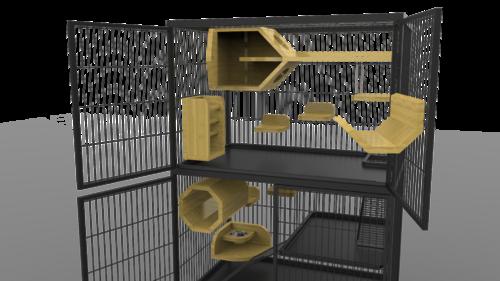 Exemple de cage