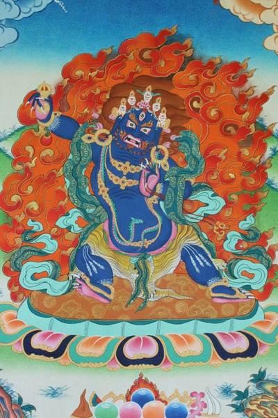 Dordjé Tchang, le Bouddha primordial