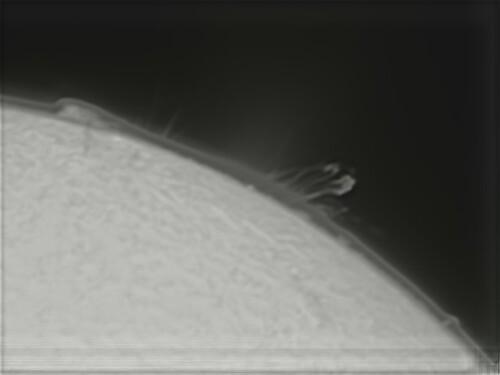plue de plasma sur le soleil,pst coronado,philippe leca,leca philippe,astronome amateur