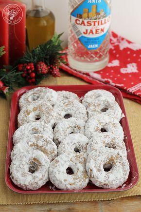 Roscos de anis, canela y aceite al horno Navidad www.cocinandoentreolivos.com (2)
