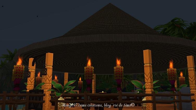 Les Sims 4 : L'hôtel bulles du Paradis