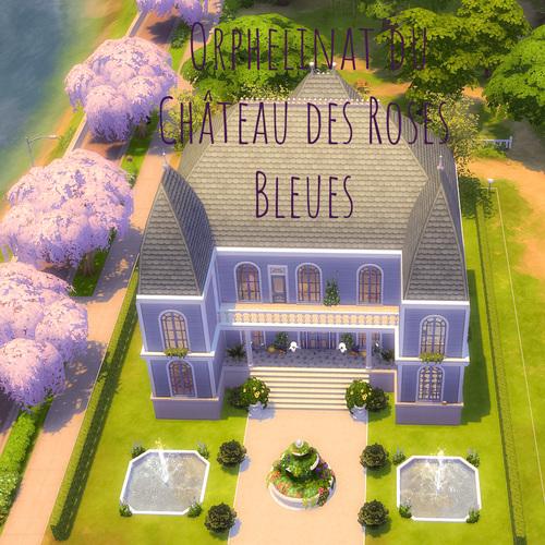 Page de l'Orphelinat du Château des Roses Bleues !