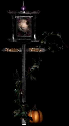 Eléments de Déco Halloween Série 9