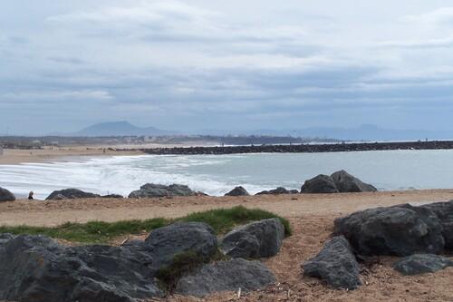 Promenade du littoral, depuis La Barre