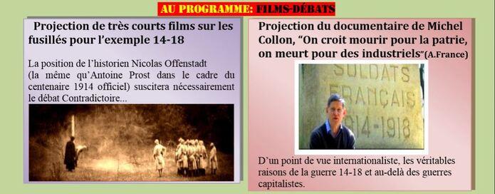 11 NOVEMBRE 2014: Journée pacifiste à Château-Arnoux (1ère annonce)