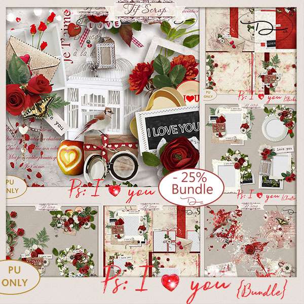 Ps I ♥ You {BUNDLE}