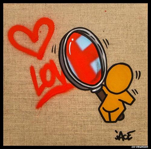 Expo solo de Jace : Je t'aime, un peu, beaucoup... Gouzou !