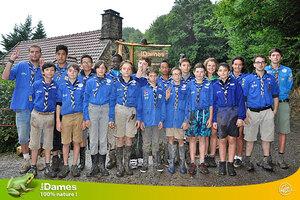 Camps scouts aux Dames
