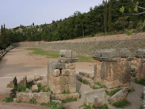 Patrimoine mondial de l'Unesco : Delphes - Grèce -