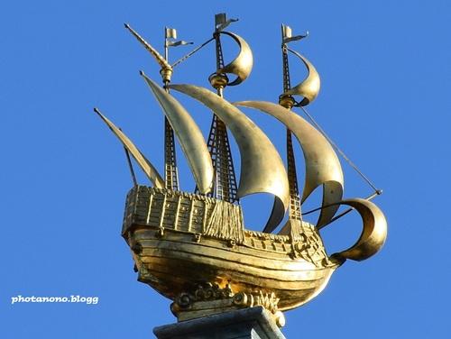 bateau doré