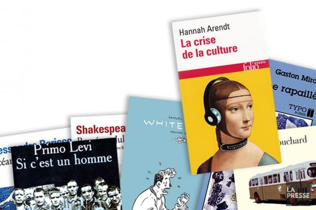 L'exercice est fastidieux: que devrait lire un jeune adulte avant d'avoir 30... (Photomontage La Presse)