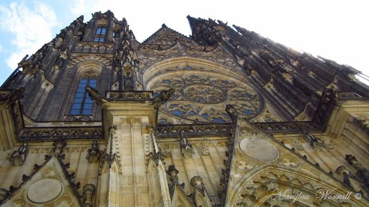 Prague : La Cathédrale St-Guy, St-Venceslas et St-Adalbert