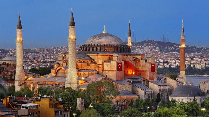 Balade Dans La Ville D'Istambul En Turquie -