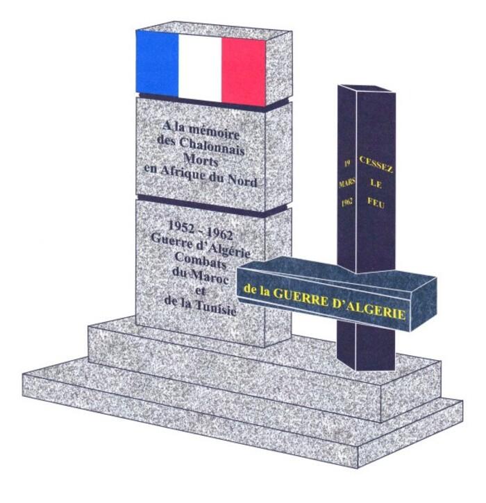 A Chalon-sur-Saône, ville de Bourgogne, la polémique concernant la stèle souhaitée et financée par les adhérents et amis de la FNACA continue de plus belle.