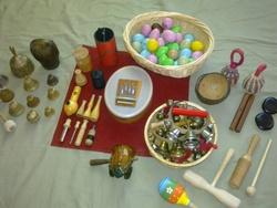 Instruments utilisés pendant les séances