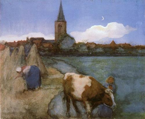 01 - Des vaches - Peinture