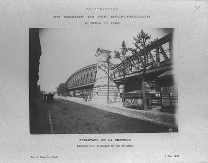 le pont Saint-Ange le 4 juin 1903