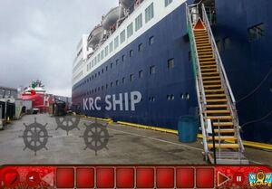 Jouer à Hit ship escape