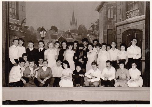 Soirée des Francs Camarades en...1965