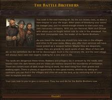 NEWS : Battle Brothers, company origins*