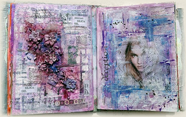 "Art journal  ""déception"""