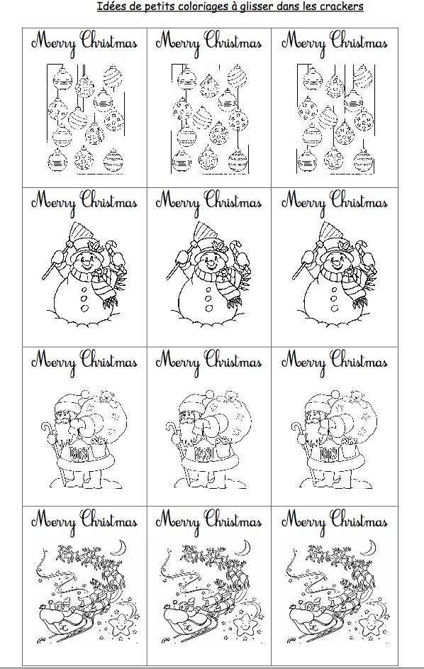 How to make christmas crackers cartable ouvert - Christmas cycle 3 ...