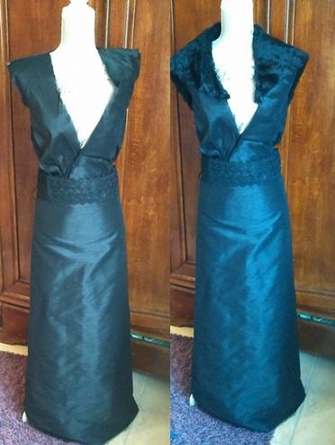 Robe noire Sansa Stark